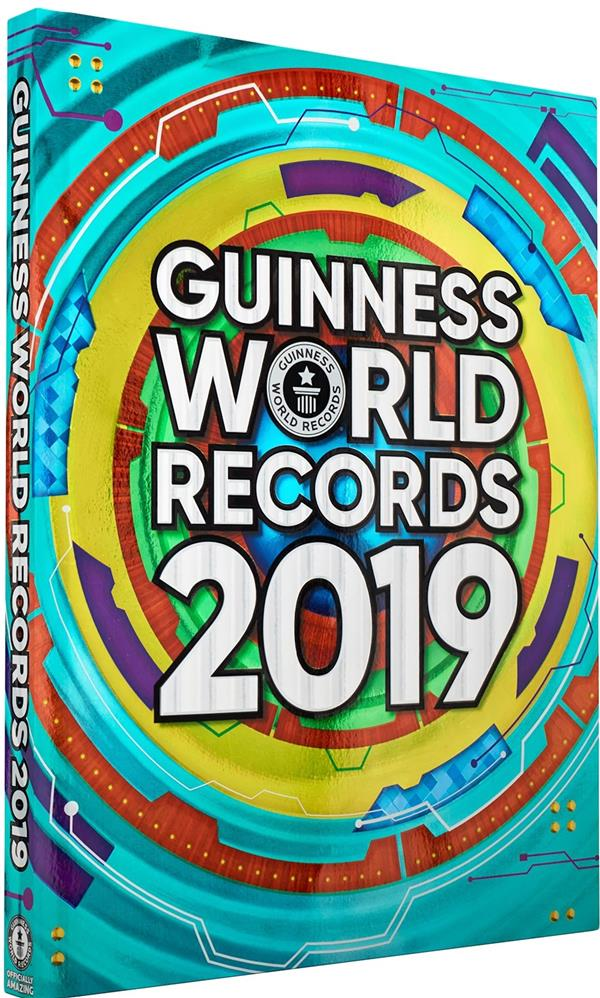 GUINNESS WORLD RECORDS 2019 XXX HACHETTE